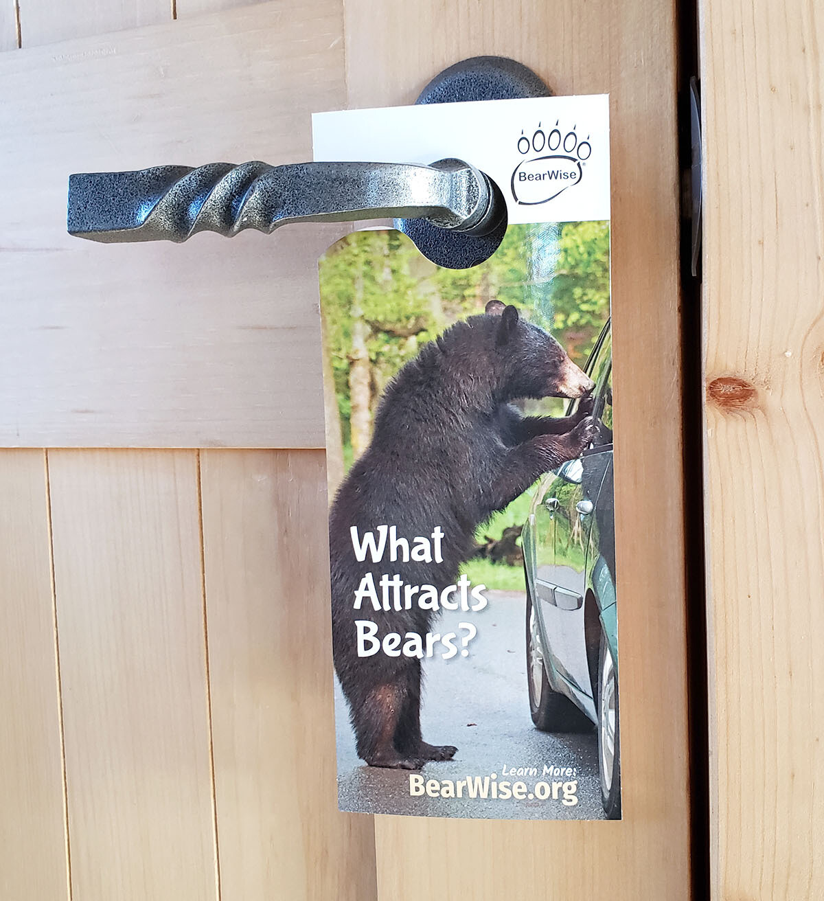 BearWise Door Hangers