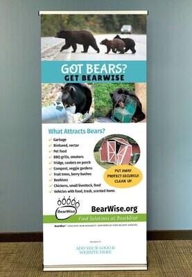 Got Bears? Get BearWise Standing Banner