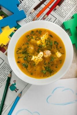 Супик с фрикадельками