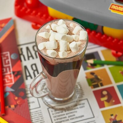 Горячий шоколад с зефирками