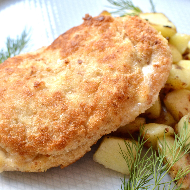 Запечённый цыплёнок (кордон блю)