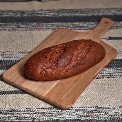 Заварной хлеб с тыквенными семечками