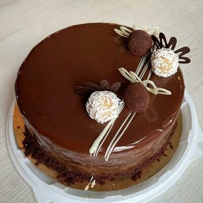 Торт Шоколад-малина