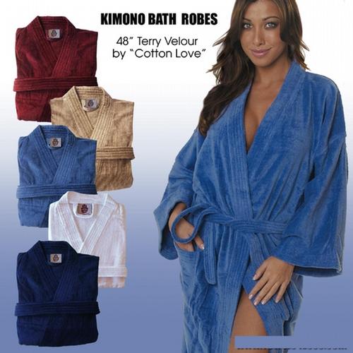 Cotton Love Bath Robes Kimono