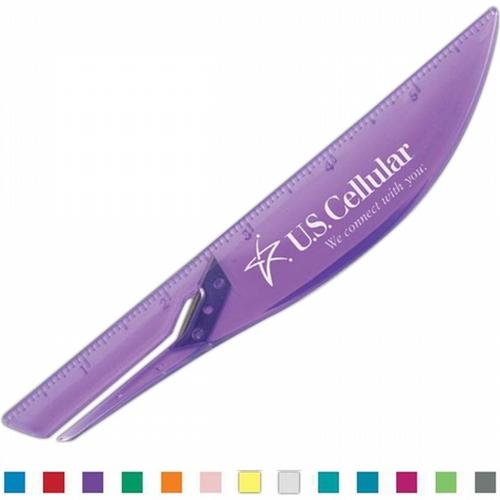 "Slim Slitter (TM) ruler 6"". Available in 13 translucent colors! 150 pcs Total"