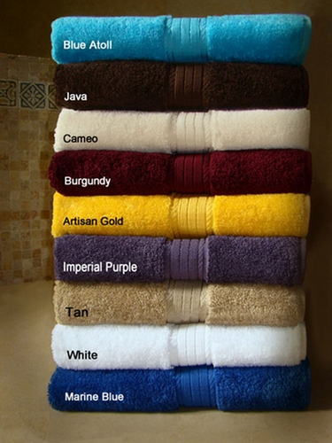 34x68 Luxurious Bath Sheets By Crown Jewel , 21.0 Lbs Per Dz, 100% Giza Egyptian Cotton