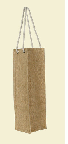 1 Wine Bottle Jute Bag with Rope Handle. (Price for 50 pcs)