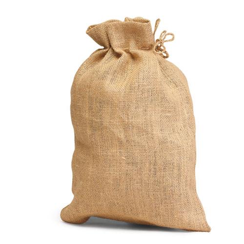 Unlaminated Jute Bag with Drawstring. (Price for 100 pcs)