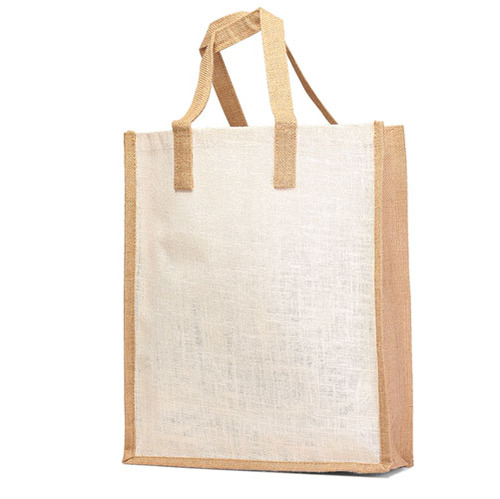Jute Shopping / Grocery Bag with Jute handle. (Price for 50 pcs)