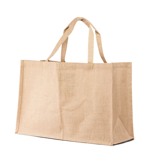 Jumbo Jute Tote bag with Self handle. (Price for 50 pcs)
