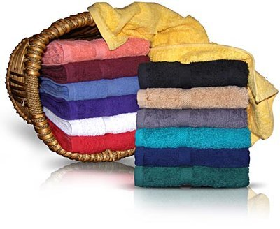 16x30 hand towels by Royal Comfort. 100 % Combed Cotton. 12 pcs