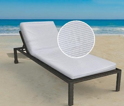 Lounge Chair Cover Luxurious 100% Cotton Terry Ribbed. 21 Lb\Dz By Crown Jewel