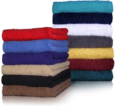 16x27 Economy Hand Towels by Royal Comfort. 12 Pcs.