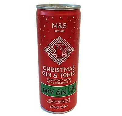 M&S Christmas Gin & Tonic