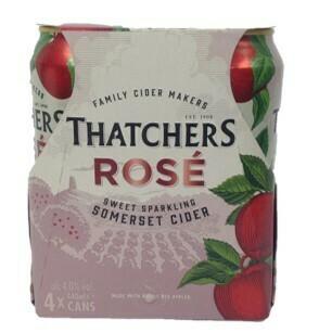 Thatchers Rose Cider