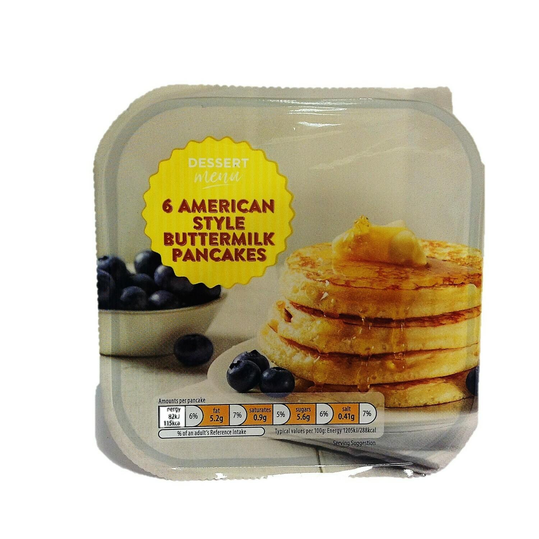 Aldi Dessert Menu 6 American Style Buttermilk Pancakes