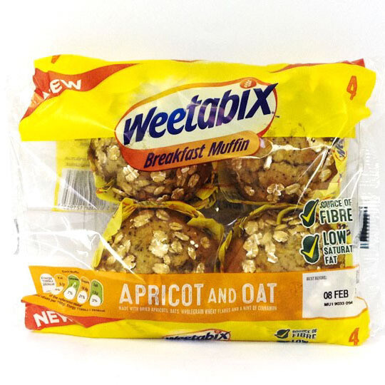 Weetabix Apricot and Oat Breakfast Muffin