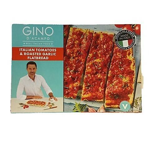 Iceland Gino D'Acampo Italian Tomatoes & Roasted Garlic Flatbread