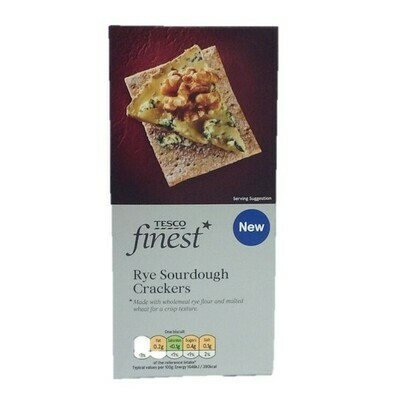 Tesco Finest Rye Sour Dough Cracker