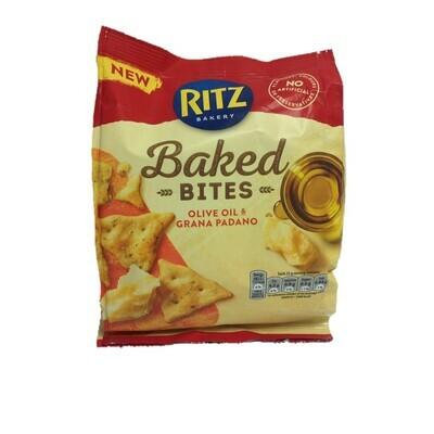 Ritz Baked Bites Olive Oil & Grana Padano Biscuits