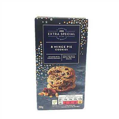 ASDA Extra Special 8 Mince Pie Cookies