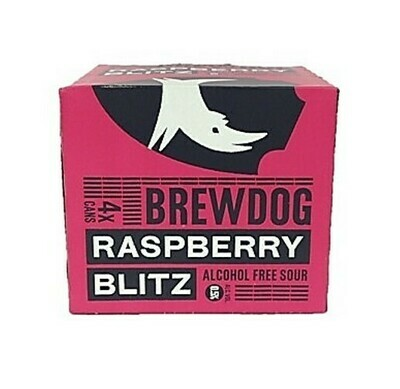 Brew Dog Raspberry Blitz Alcohol Free Sour