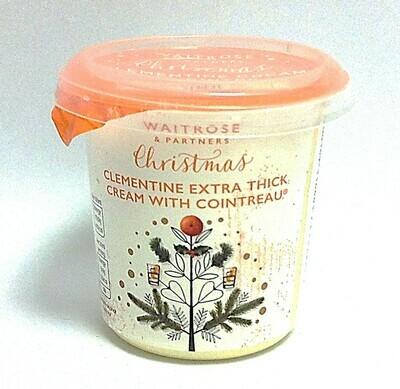 Waitrose Christmas Clementine & Cointreau Cream