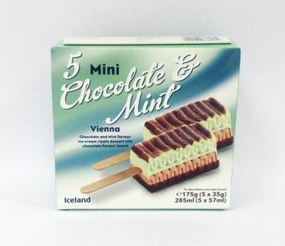 Iceland Mini Chocolate and Mint Vienna