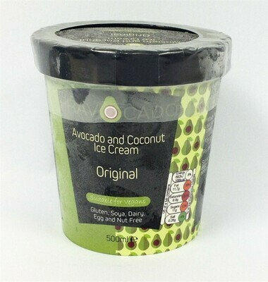 Fravacado Avocado and Coconut Original Ice Cream