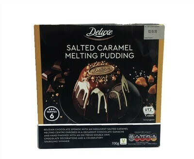 Lidl Deluxe Salted Caramel Melting Pudding