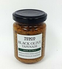 Tesco Black Olive Tapenade