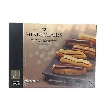 Picard 12 Mini Chocolate & Coffee Eclairs