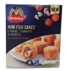 Birds Eye Hake and Tomato Mini Fish Cakes