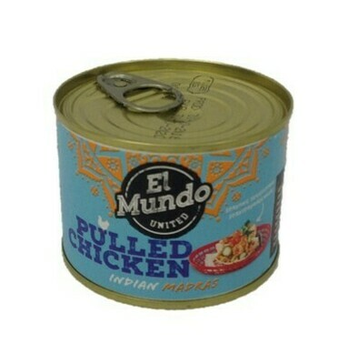 El Mundo United Pulled Chicken Indian Madras