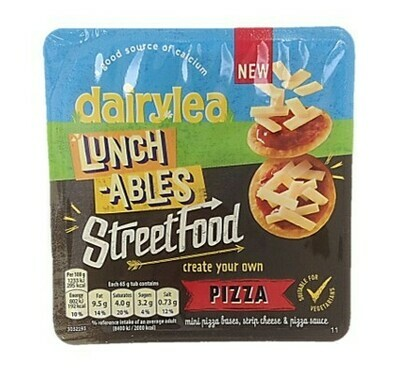 Dairylea Lunchables Street Food Pizza