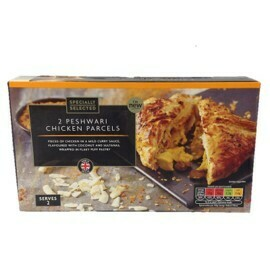 Aldi Specially Selected 2 Peshwari Chicken Parcels