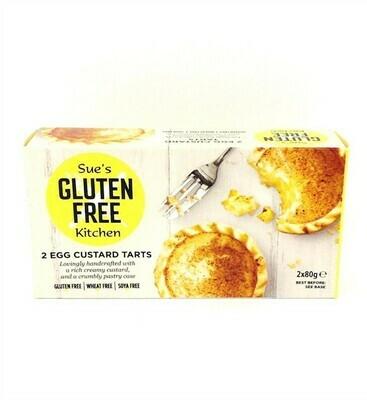 Sue's Kitchen - Gluten Free Egg Custard Tarts