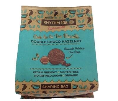 Rhythm 108 Ooh-la-la Tea Biscuits Double Choco Hazelnut Sharing Bag