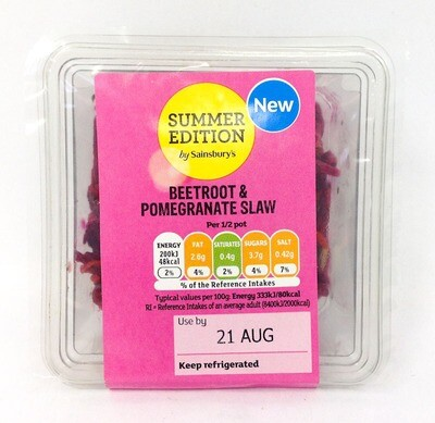 Sainsbury's Summer Edition Beetroot & Pomegranate Slaw