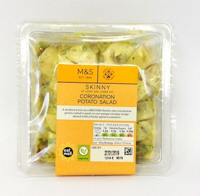 Marks & Spencer Skinny Coronation Potato Salad