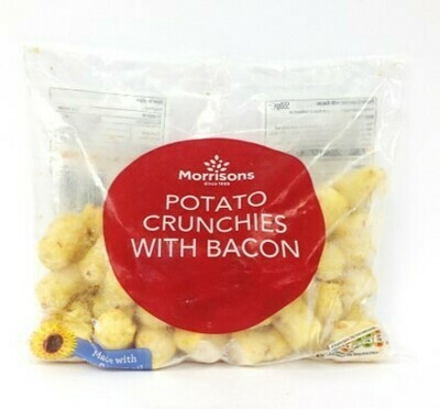 Morrisons Potato Crunchies with Bacon