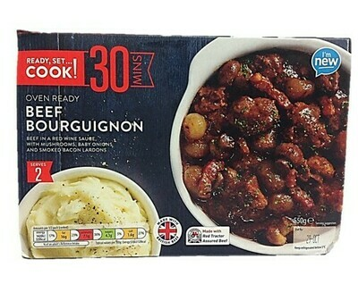 Aldi Ready Set Cook Beef Bourguignon