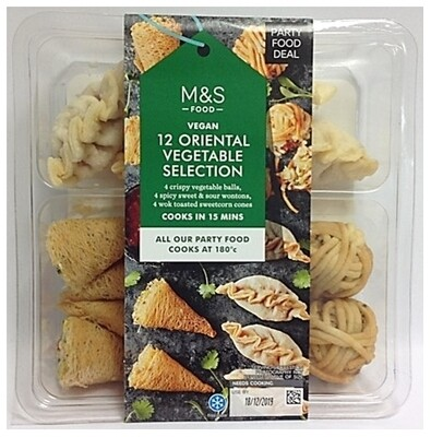 M&S Vegan 12 Oriental Vegetable Selection