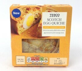 Tesco Scotch Egg Quiche