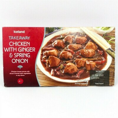 Iceland Takeaway Chicken with Ginger & Spring Onion