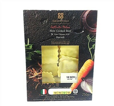 Co-op Irresistible Slow Cooked Beef Ravioli