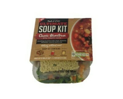 Pureety Made At Home Soup Kit Classic Minestrone With Tubetti Pasta