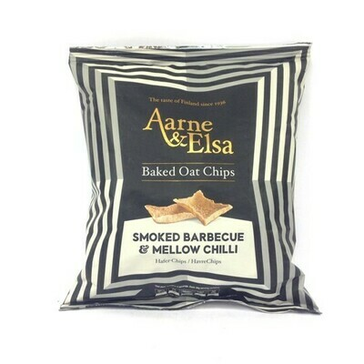 Aarne and Else Oat Chips Smoked Barbeque and Mellow Chilli