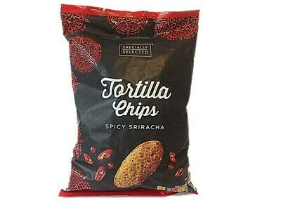 Aldi Specially Selected Tortilla Chips - Spicy Siracha