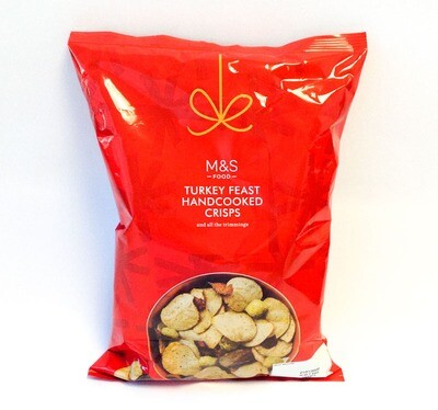 Marks and Spencer Turkey Feast Hand Cooked Crisps